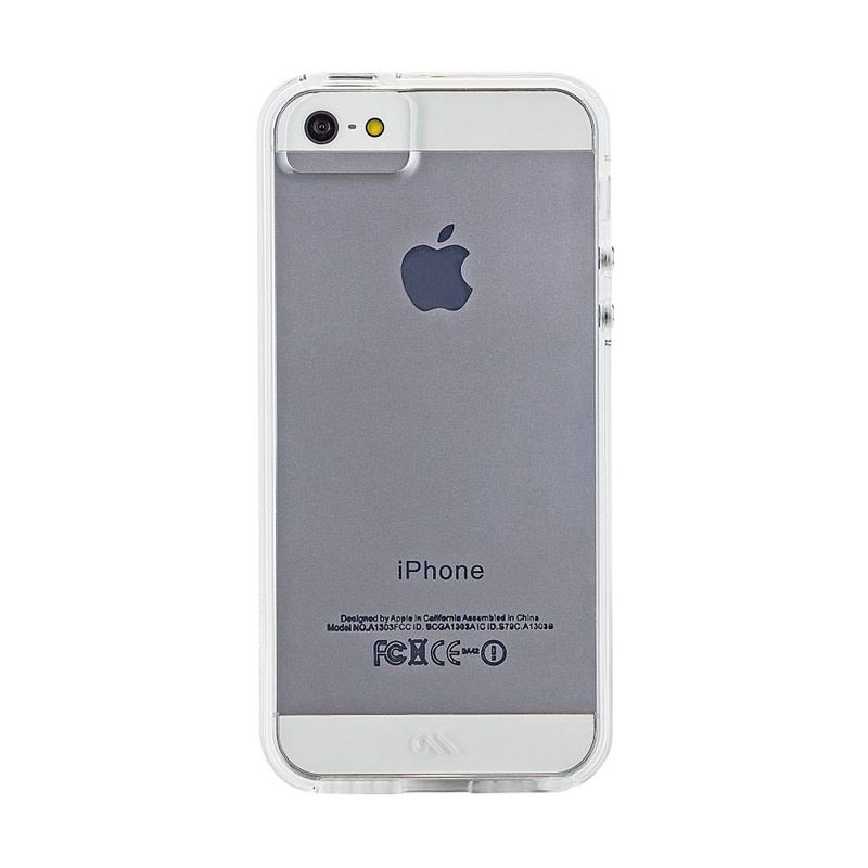 Case-Mate Tough Naked Clear Casing for iPhone 5 or 5s