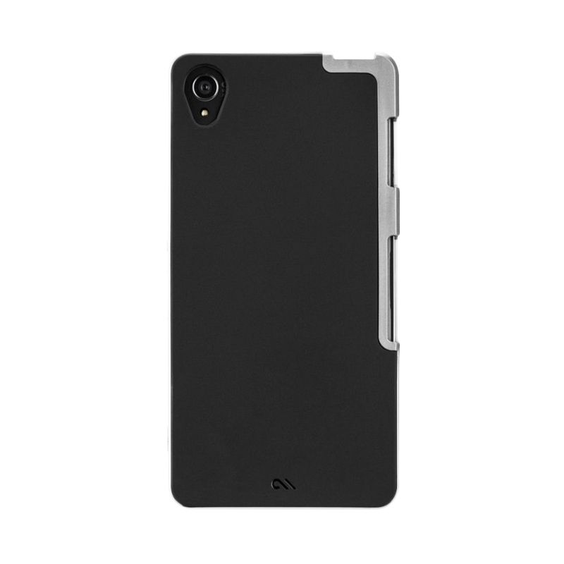 Case-mate Tough Slim Black Silver Casing for Sony Xperia Z3
