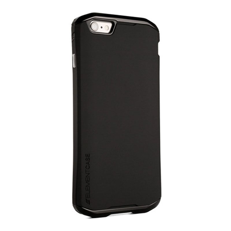 Element Case Original Solace Chroma Black Gunmetal Casing for iPhone 6 [4.7 Inch]