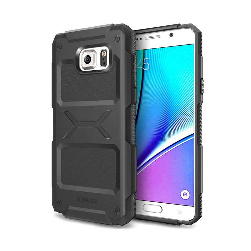 Ringke Rebel Black Casing for Samsung Galaxy Note 5