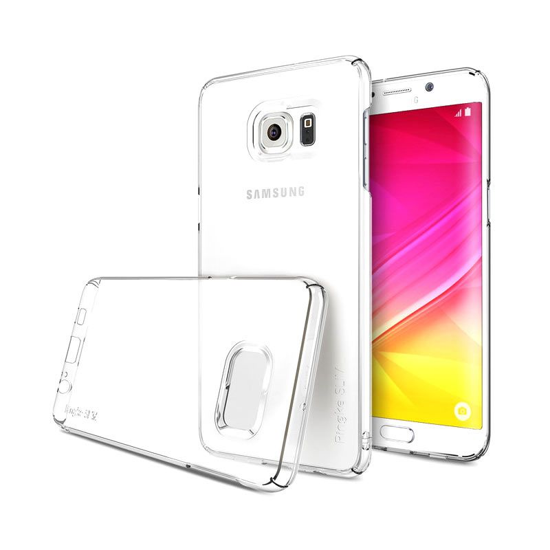 Ringke Slim Clear Hardcase Casing for Samsung Galaxy S6 Edge Plus