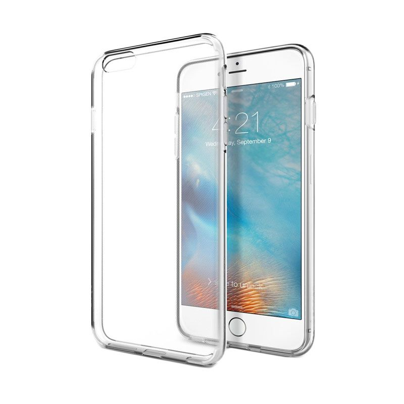 Spigen Liquid Crystal Clear Casing for iPhone 6S Plus or iPhone 6 Plus [5.5 Inch]