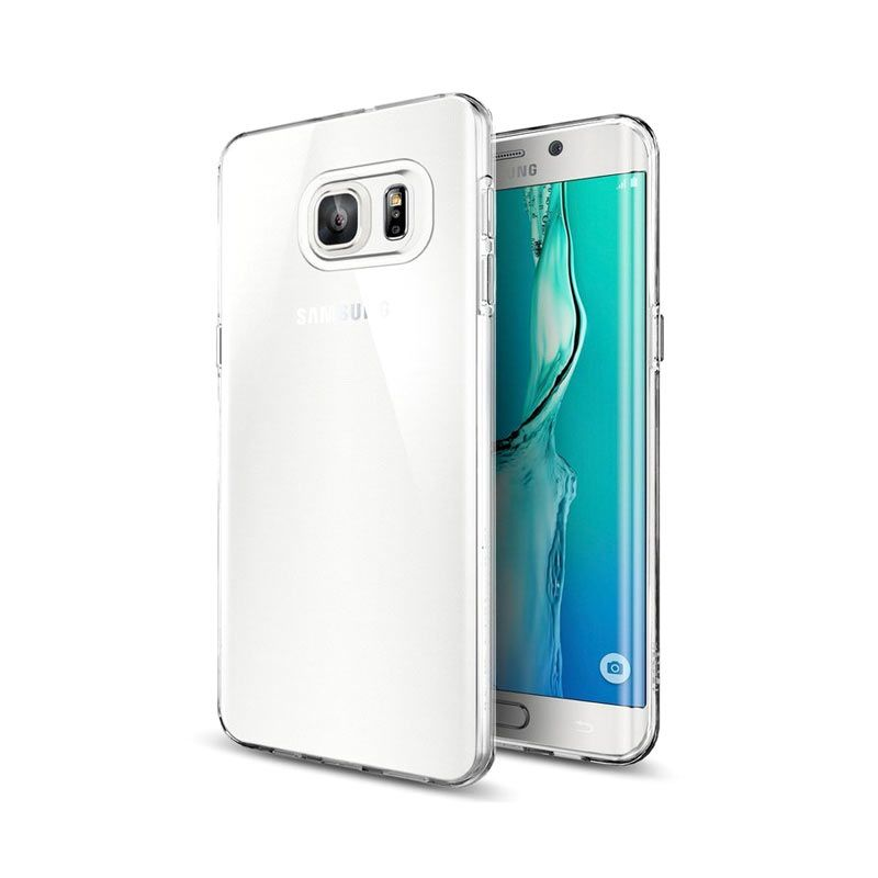 Spigen Liquid Crystal Clear Casing for Samsung Galaxy S6 Edge Plus