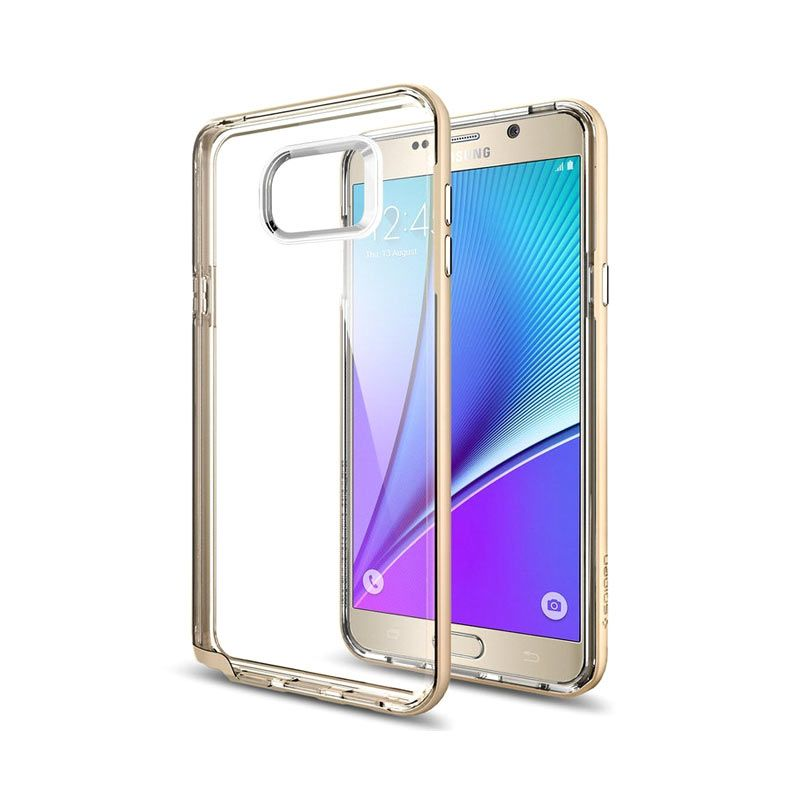 Spigen Neo Hybrid Crystal Gold Casing for Samsung Galaxy Note 5