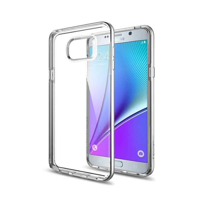 Spigen Neo Hybrid Crystal Silver Casing for Samsung Galaxy Note 5