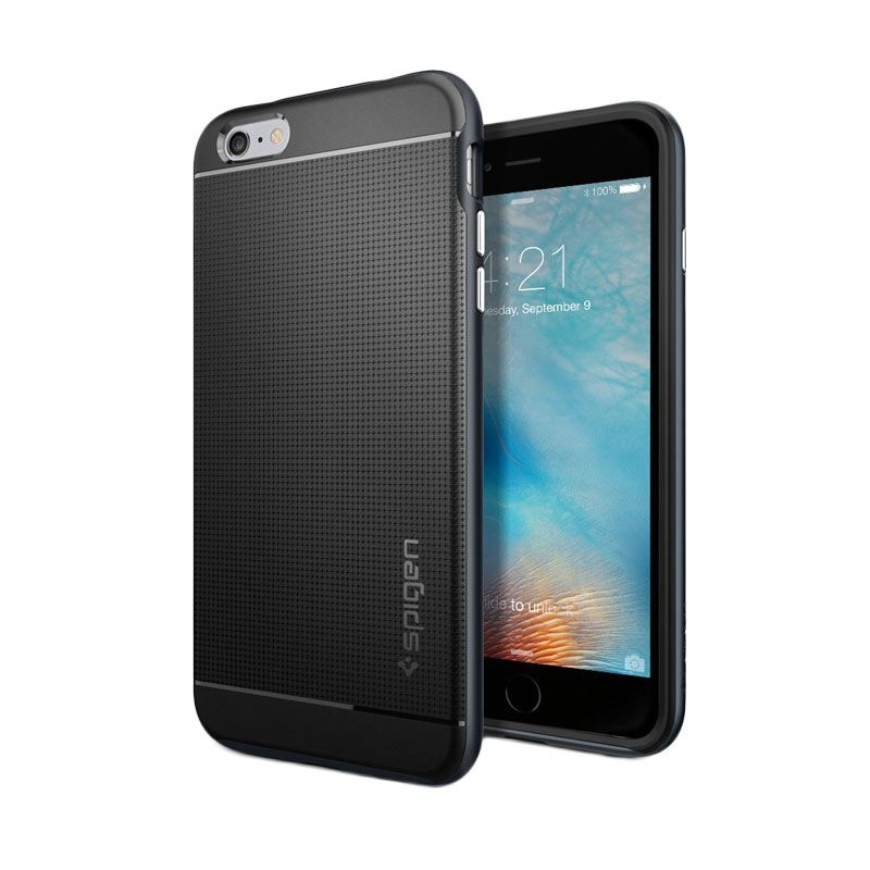 Spigen Neo Hybrid Metal Slate Casing for iPhone 6S Plus or 6 Plus [5.5 Inch]