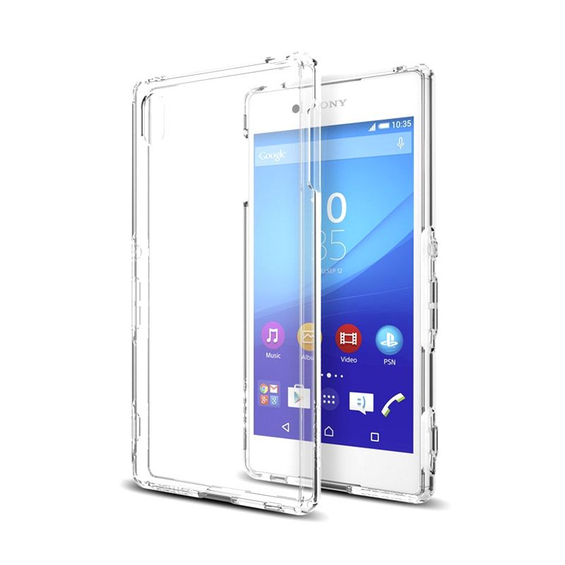 Spigen Ultra Hybrid Crystal Clear Casing for Sony Xperia Z4