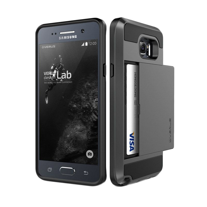 Verus Damda Slide Dark Silver Casing for Samsung Galaxy Note 5