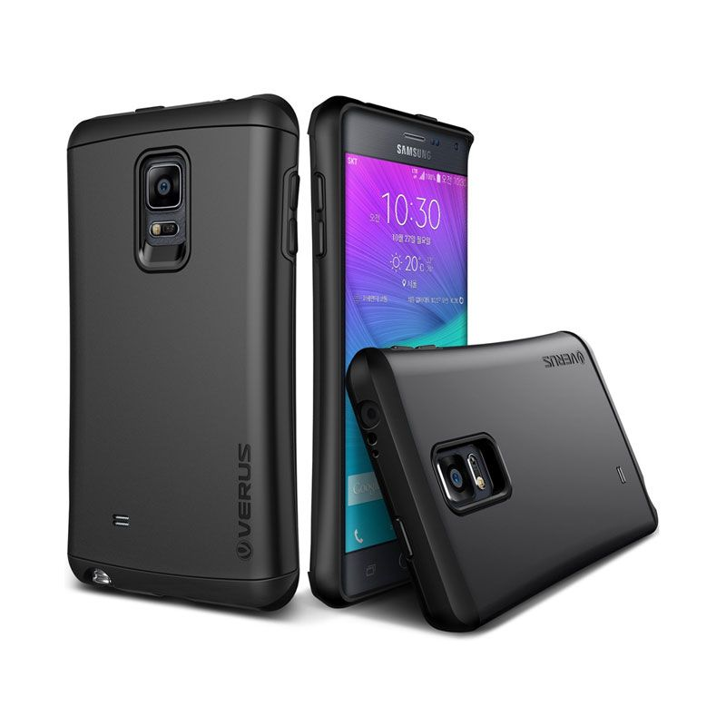 Verus Hard Drop Charcoal Black Casing for Galaxy Note Edge
