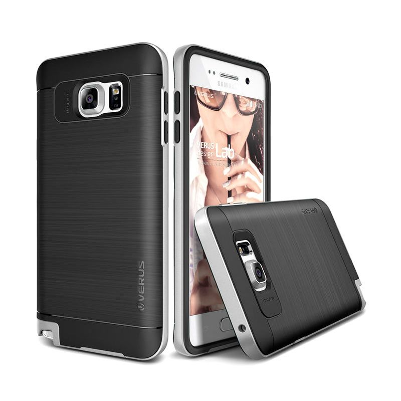 Verus High Pro Shield Light Silver Casing for Samsung Galaxy Note 5