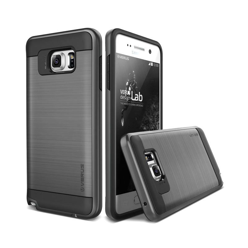 Verus Verge Steel Silver Casing for Samsung Galaxy Note 5