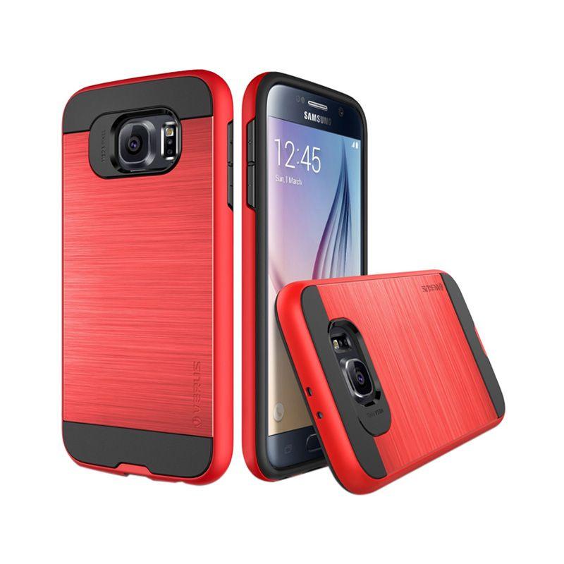 Verus Verge Crimson Red Casing for Galaxy S6 Edge