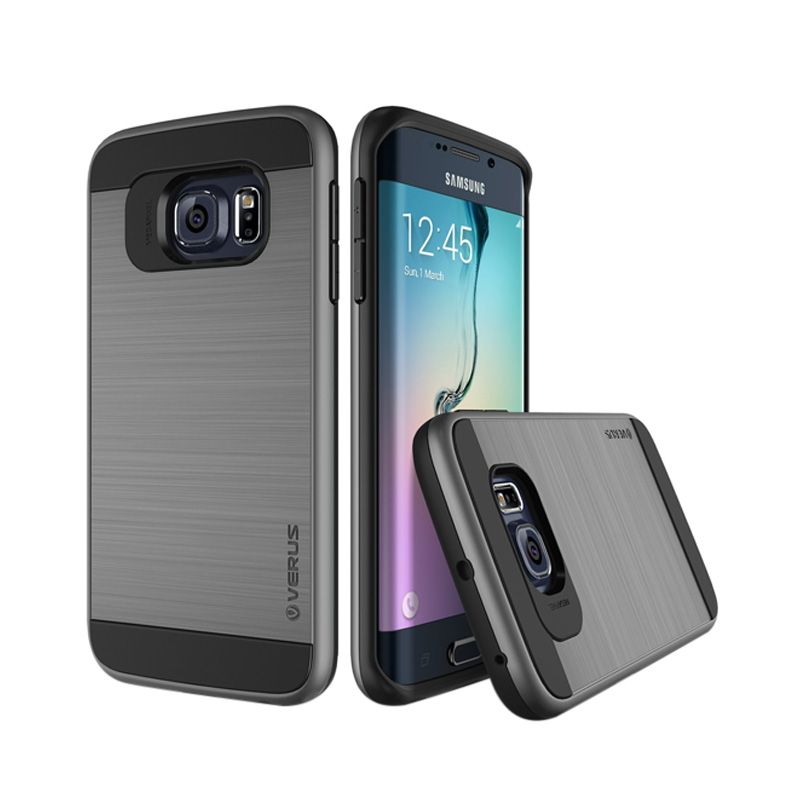Verus Verge Steel Silver Casing for Galaxy S6 Edge