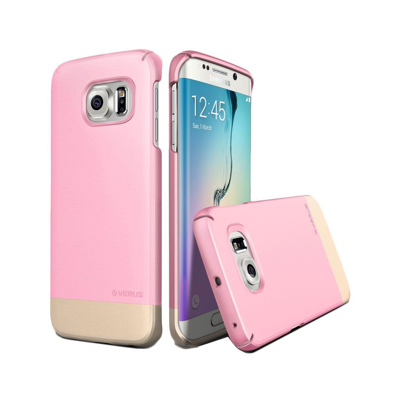 Verus 2Link Sugar Pink Casing for Galaxy S6 Edge