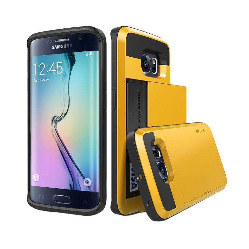 Verus Damda Slide Special Yellow Casing for Galaxy S6 Edge