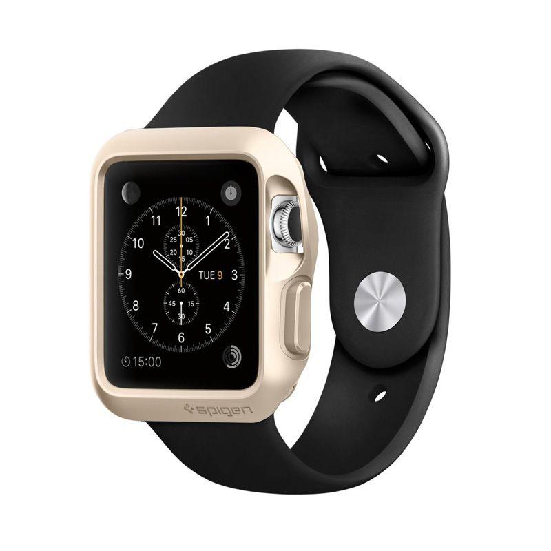 SPIGEN Slim Armor Champagne Gold Casing for Apple Watch [42 mm]