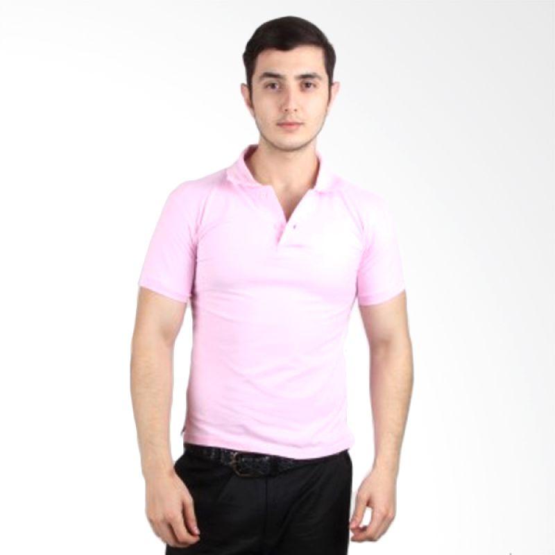 iGee Basic Light Pink Polo Shirt