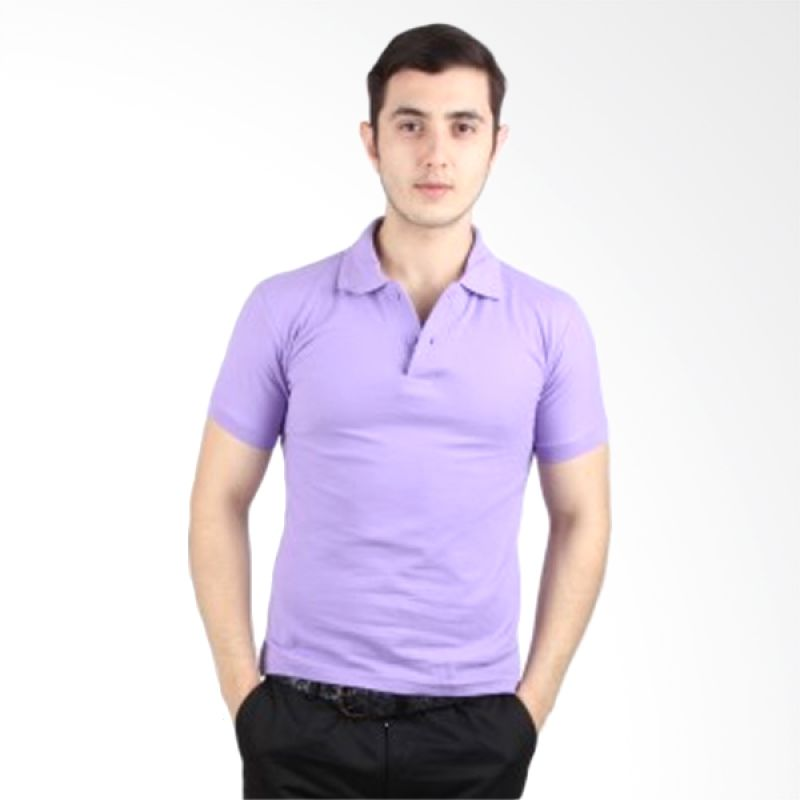 iGee Basic Light Purple Polo Shirt