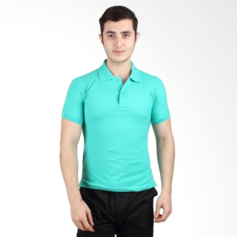 iGee Basic Light Turquoise Polo Shirt