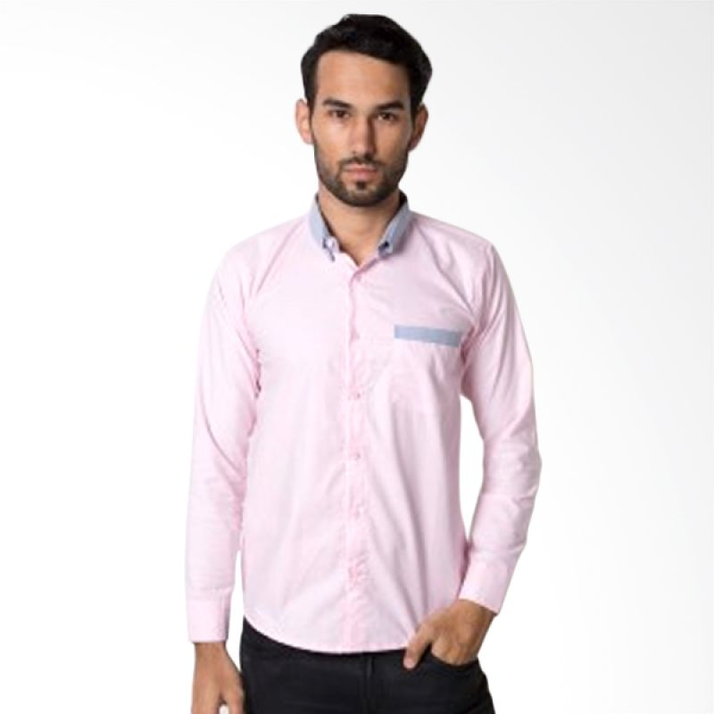 iGee Paciano Pink Kemeja Pria