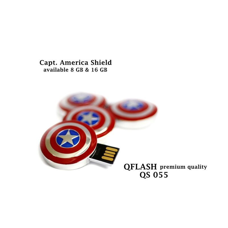 Avenger Captain America Shield Flashdisk [8 GB]
