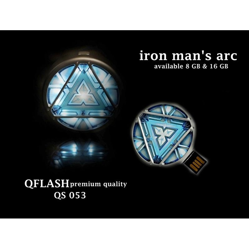 Avenger Iron Man Arc Flashdisk [8 GB]