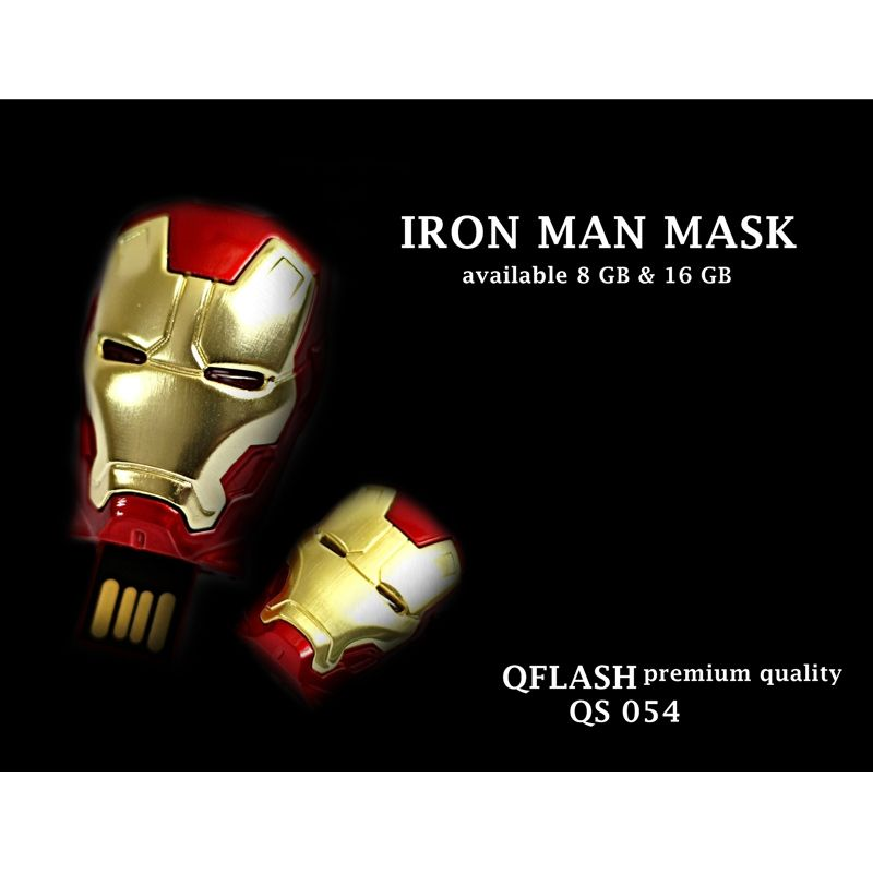 Avenger Iron Man Mask Flashdisk [16 GB]