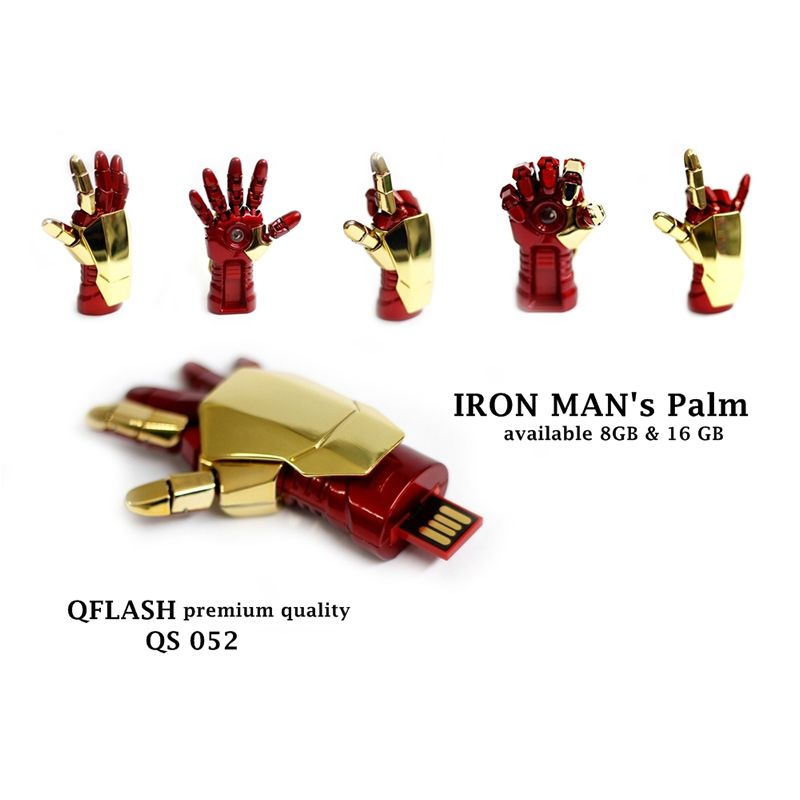 Avenger Iron Man Palm Flashdisk [8 GB]