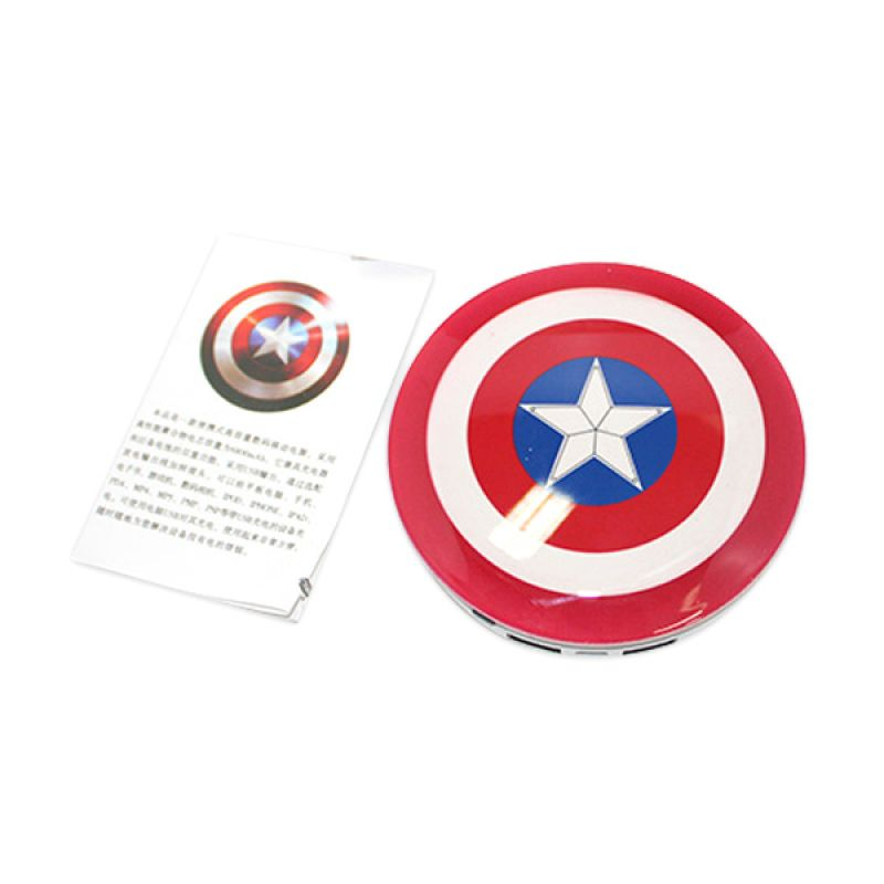 Unik Captain America Shield Powerbank [6800 mAh]