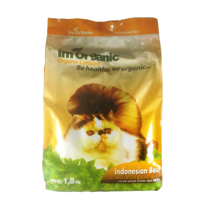 harga Im Organic Cat Food Indonesian Best Makanan Kucing [1,8 kg] Blibli.com