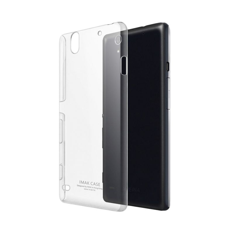 Imak Crystal II Slim Transparant Hardcase Casing for Sony Xperia C4