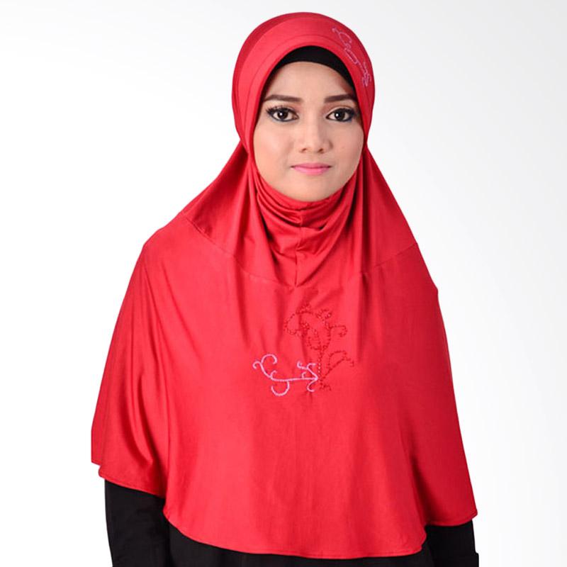 Inara House Shelma Hijab - Merah Hati