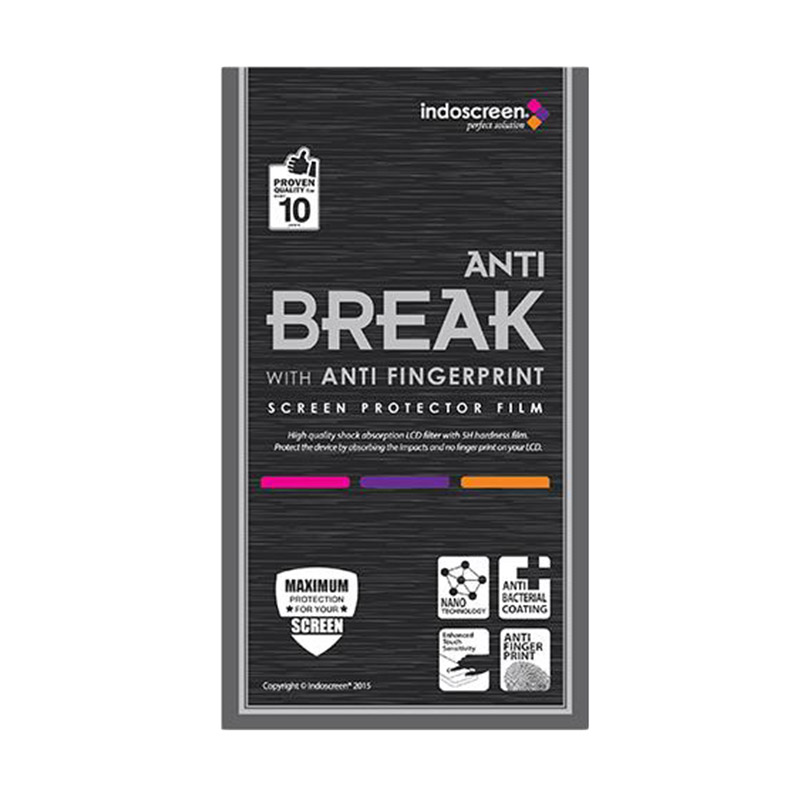 harga IndoScreen Anti Break Screen Protector for Apple iPad Mini 1/2/3 - Clear [Anti Gores] Blibli.com