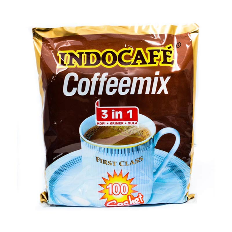 harga Groceries - Indocafe Coffemix 3 in 1 [100 sachet / 20 gr] Blibli.com