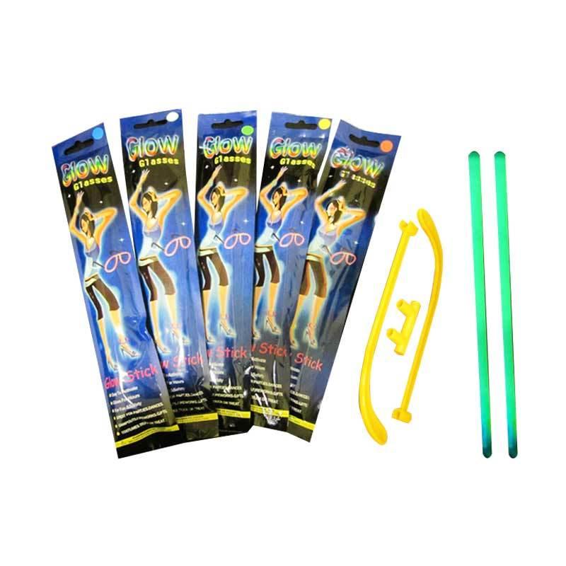 Indoglow Glow Stick Glasses