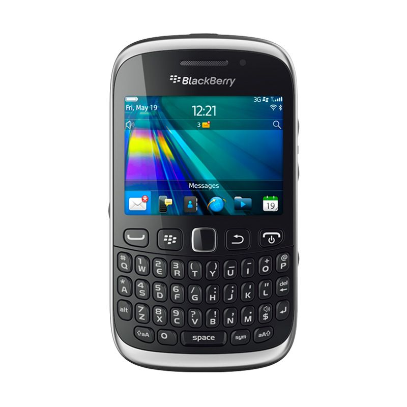 Blackberry Amstrong 9320 Hitam Smartphone