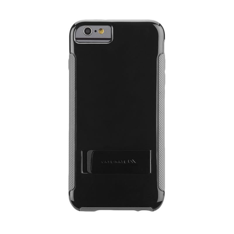 Casemate POP with Stand Black Abu-abu Casing for iPhone 6 Plus