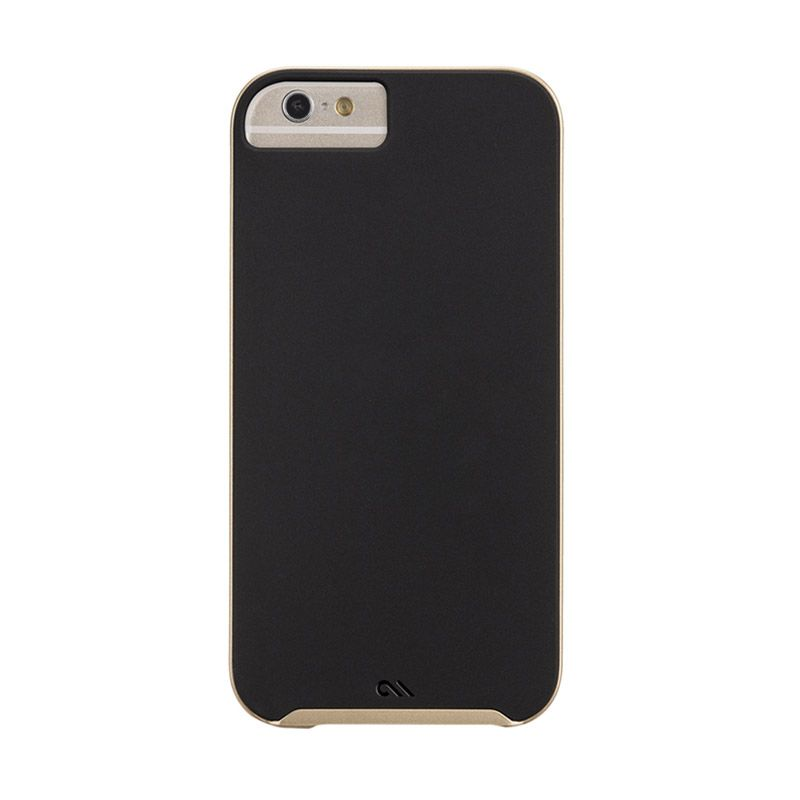Casemate Slim Tough Black Gold Casing for iPhone 6