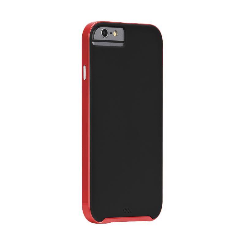 Casemate Slim Tough Merah Hitam Casing for iPhone 6