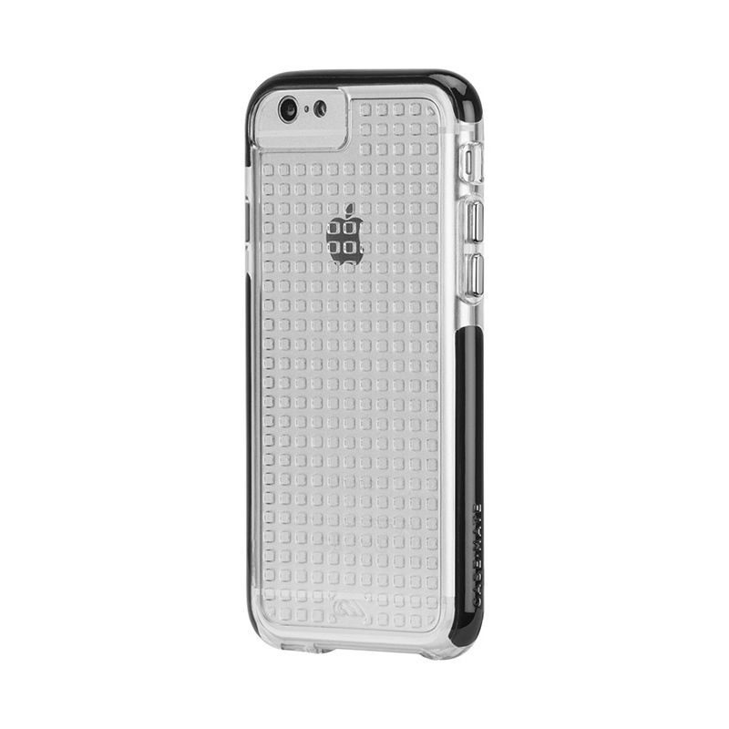 Casemate Tough Air Clear Hitam Casing for iPhone 6
