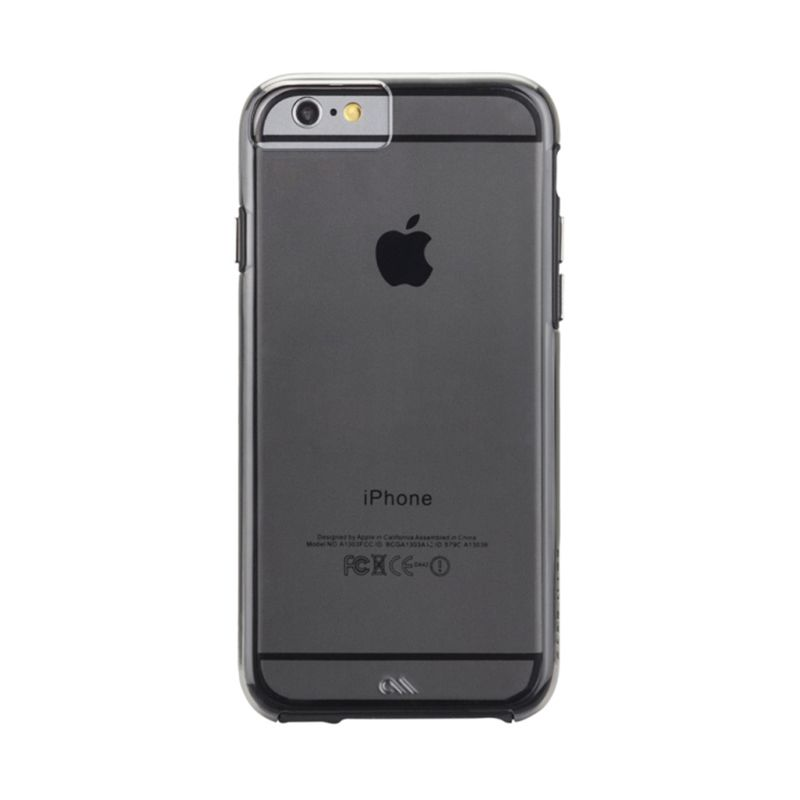 Casemate Tough Naked Smoke Hitam Casing for iPhone 6