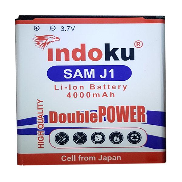 Indoku Double Power Baterai for Samsung Galaxy J1 J100 [4000 mAh]