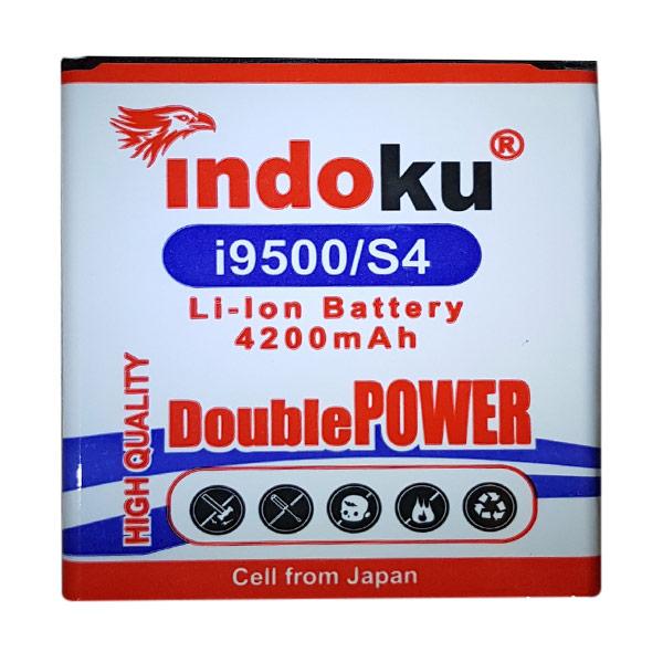 Indoku Baterai Double Power for Samsung Galaxy S4 [4200 mAh]