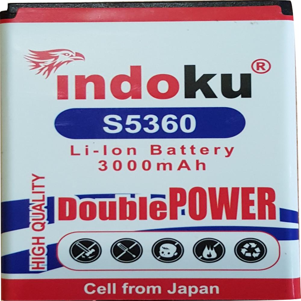 Indoku Double Power Baterai for Samsung Galaxy Young S5360 [3000 mAh]