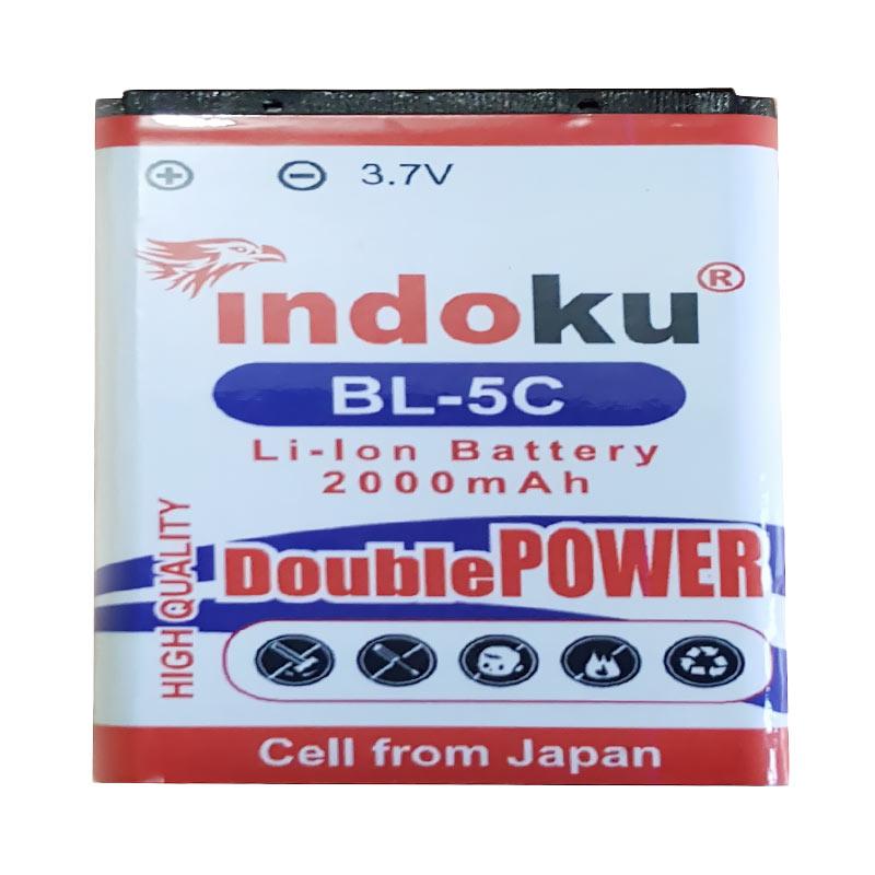 Indoku Double Power Baterai for Nokia BL-5C [2000 mAh]