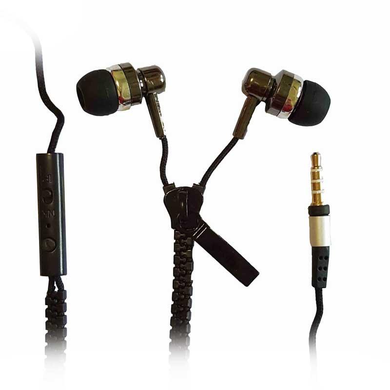Indoku Resleting Universal Headset - Black