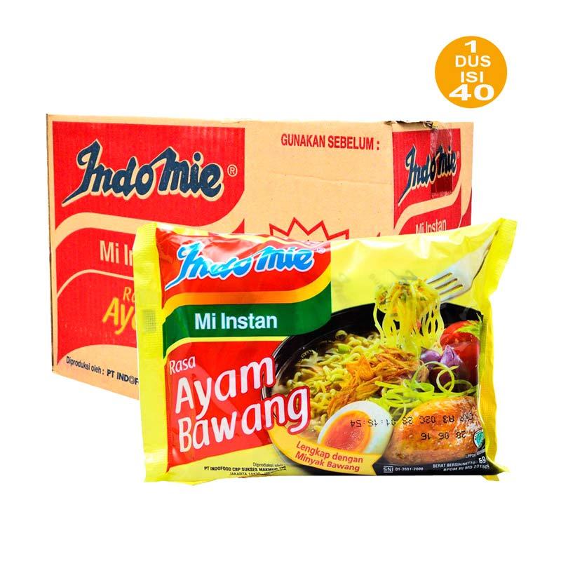 Indomie Ayam Bawang Mie Instan [69 gram/40 Pcs]