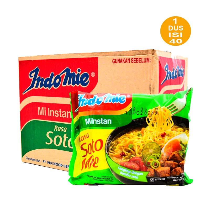 Indomie Soto Mie Instan [ 75 gram / 40 pcs ]