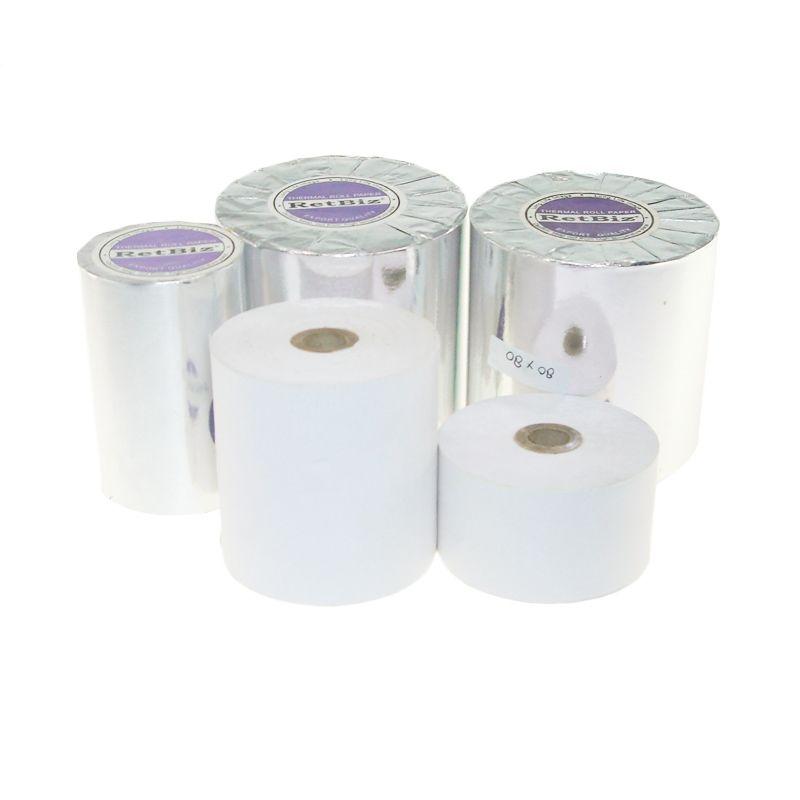 RetBiz Thermal Paper [80 x 65 mm/75 Roll]