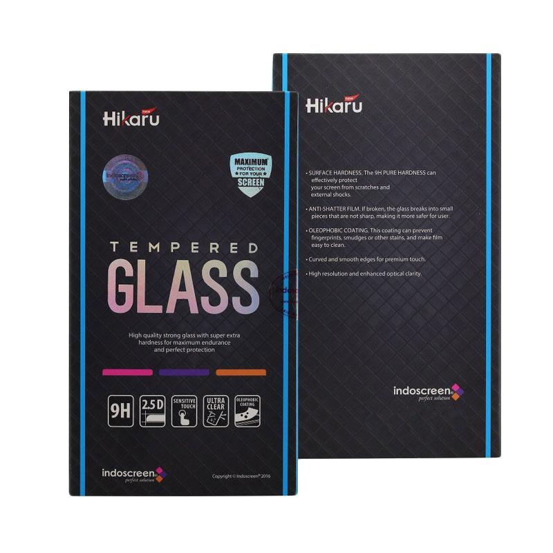 harga Hikaru Tempered Glass for Samsung Galaxy V or Ace 3 - Clear Blibli.com